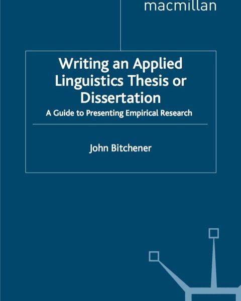 linguistics dissertation