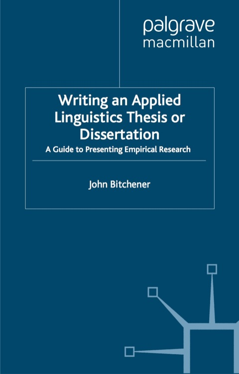 linguistics thesis collection Thesis: a thesis, written under the supervision of a linguistics faculty member, and accepted by a second faculty reader normally the work is completed in 10 cr of ling 700 normally the work is completed in 10 cr of ling 700.