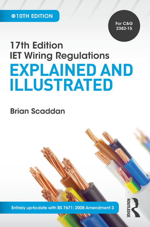 Fabulous 17Th Edition Iet Wiring Regulations Explained And Illustrated 10Th Wiring Cloud Hisonuggs Outletorg
